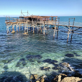 Trabocco - Fischfang